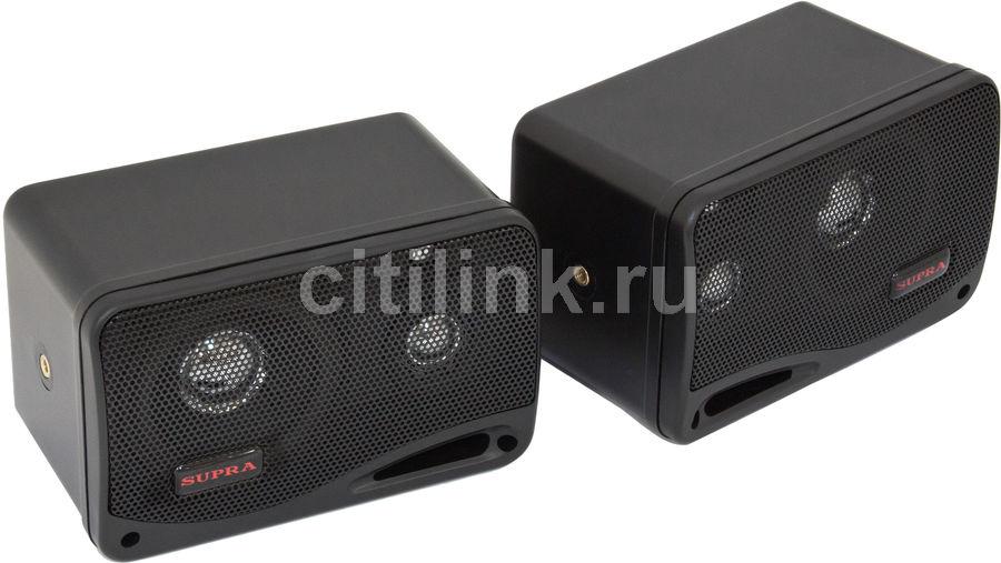 Колонки автомобильные SUPRA SBD-103BX,  корпусные,  95Вт