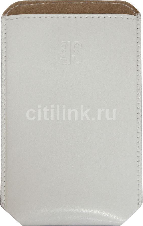 Чехол (футляр) INTERSTEP Pocket р56, белый [spct56-000000-h2003o-k100]