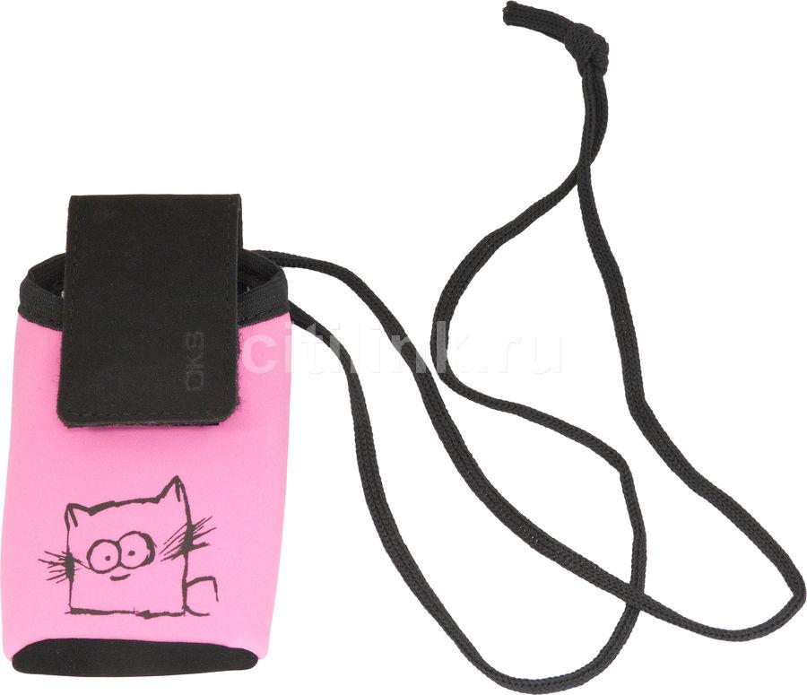 Сумочка INTERSTEP CHASE кошка, розовый [scha04-slvl05-k1505t-k160]