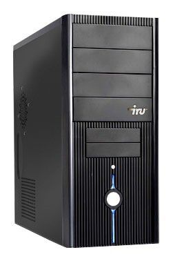 ПК iRU Home 320 AX2-215/2048/ 160/G9600GT-512/DVD-RW/CR/W7-S/AV/black