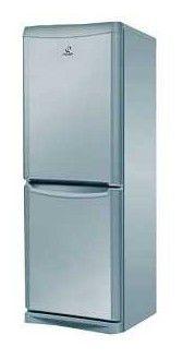 Холодильник INDESIT NBA 16 S,  двухкамерный,  серебристый