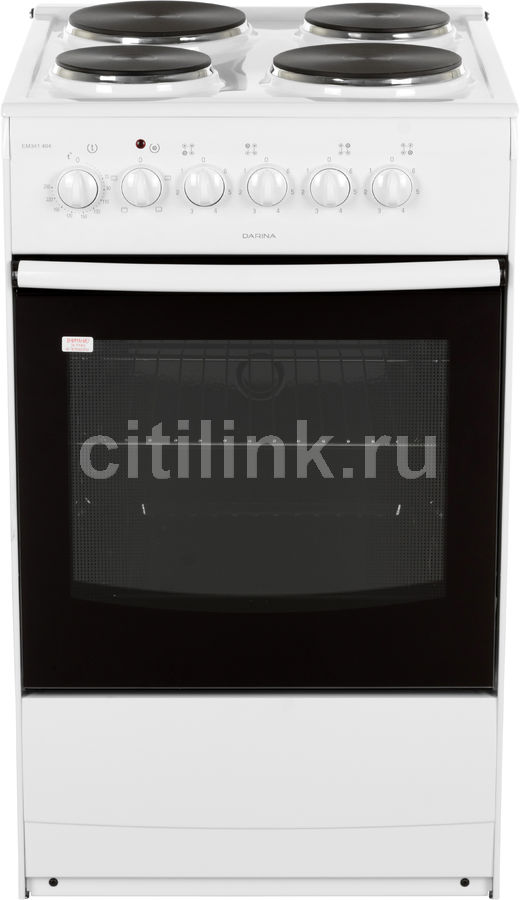 Электрическая плита DARINA S EM341 404 W,  эмаль,  белый