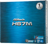 Материнская плата ASROCK H67M, LGA 1155, Intel H67(B3), mATX, Ret вид 6
