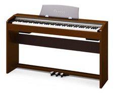 Цифровое фортепиано PRIVIA CASIO PX-730CY, 88, полновзвешенная, полноразмерные, 128, вишня