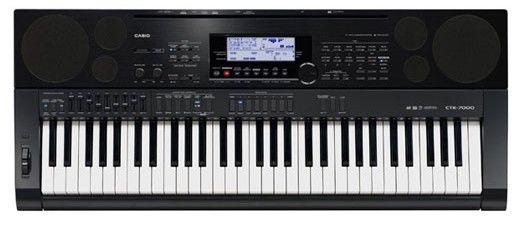 Синтезатор CASIO CTK-7000, 61, невзвешенная, полноразмерные, 64