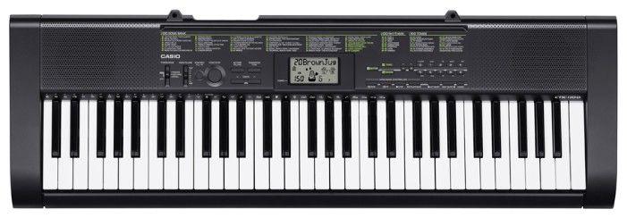 Синтезатор CASIO CTK-1100, 61, невзвешенная, полноразмерные, 12