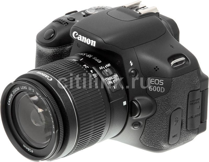 настроить фотоаппарат canon eos 600d