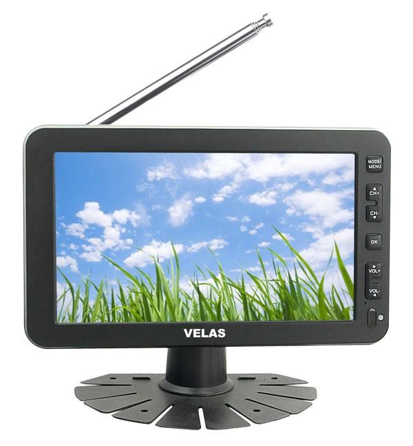 Автомобильный портативный телевизор VELAS VTV-730,  7
