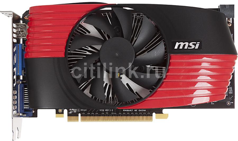 Видеокарта MSI GeForce GTS 450,  1Гб, GDDR5, Ret [n450gts-md1gd5]