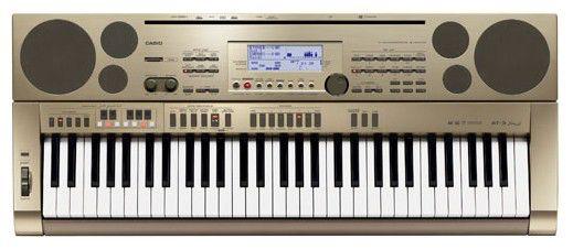 Синтезатор CASIO AT-3, 61, невзвешенная, полноразмерные, 64