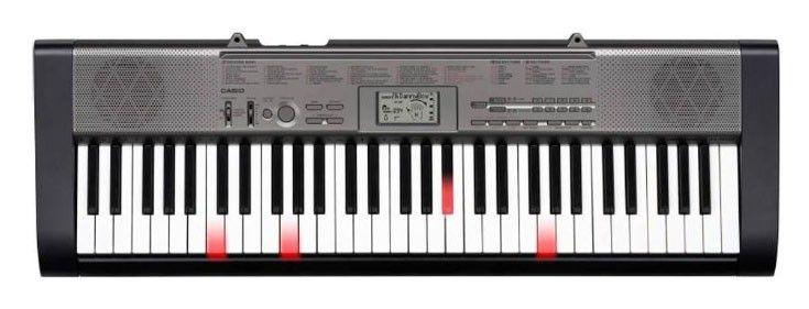 Синтезатор CASIO LК-125, 61, невзвешенная, полноразмерные, 12, розовый [lk-125]