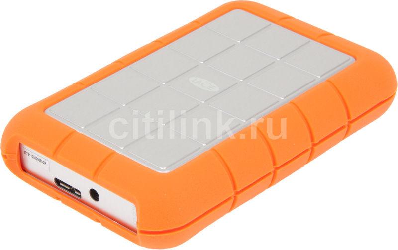 Внешний жесткий диск LACIE 301933, 500Гб, оранжевый [301 933]