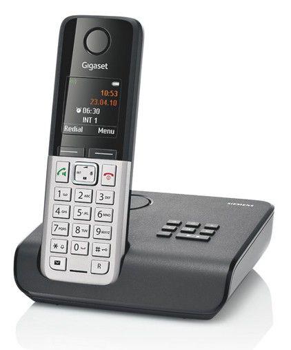 Радиотелефон GIGASET C300A,  черный