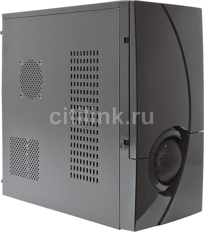 Корпус ATX CASECOM Texconn 3391, Midi-Tower, без БП,  черный