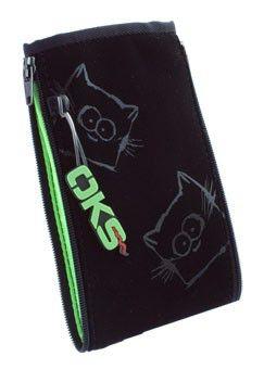 Чехол (футляр) INTERSTEP ZIPP коты, черный [szip93-00vl05-k0901o-k104]
