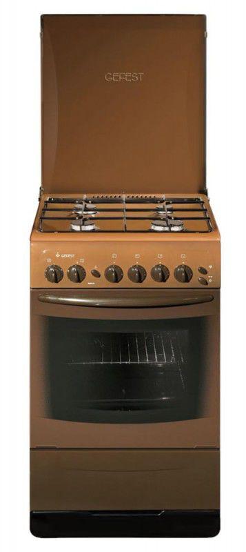 Газовая плита ГЕФЕСТ 3200 К19,  газовая духовка,  коричневый [пг 3200 к19]