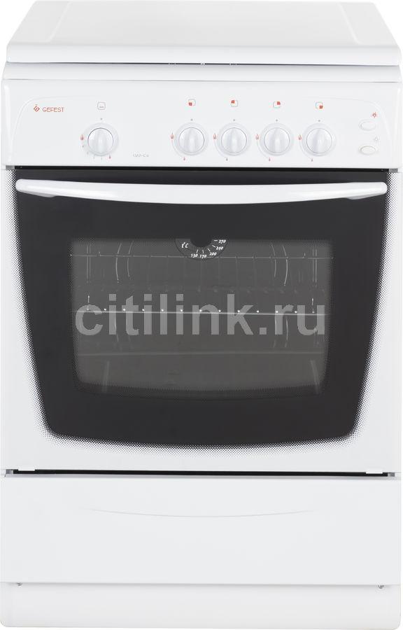 Газовая плита GEFEST ПГ 1200-С6,  газовая духовка,  белый