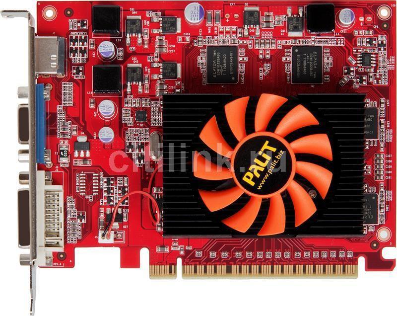 Видеокарта PALIT GeForce GT 430,  512Мб, GDDR5, oem [ne5t4300hd51-1083f]