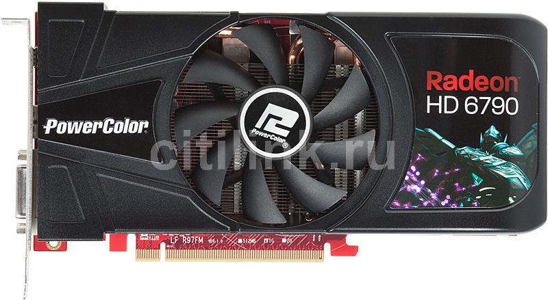 Видеокарта POWERCOLOR Radeon HD 6790,  1Гб, GDDR5, Ret [ax6790 1gbd5-dh]