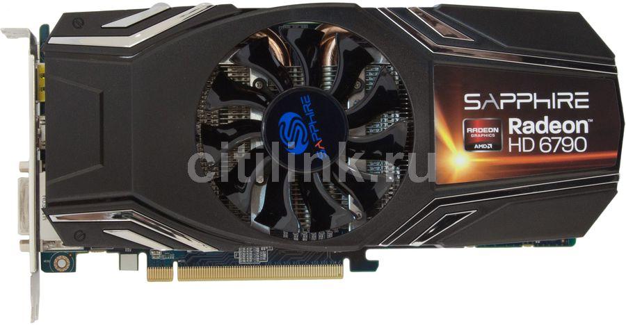 Видеокарта SAPPHIRE Radeon HD 6790,  1Гб, GDDR5, Ret [11194-xx-20g]