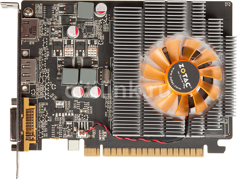 Видеокарта ZOTAC GeForce GT 430,  1Гб, DDR3, Ret [zt-40604-10l]
