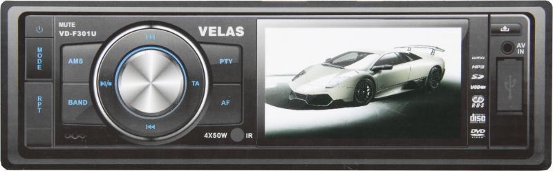 Автомагнитола VELAS VD-F301U,  USB,  SD