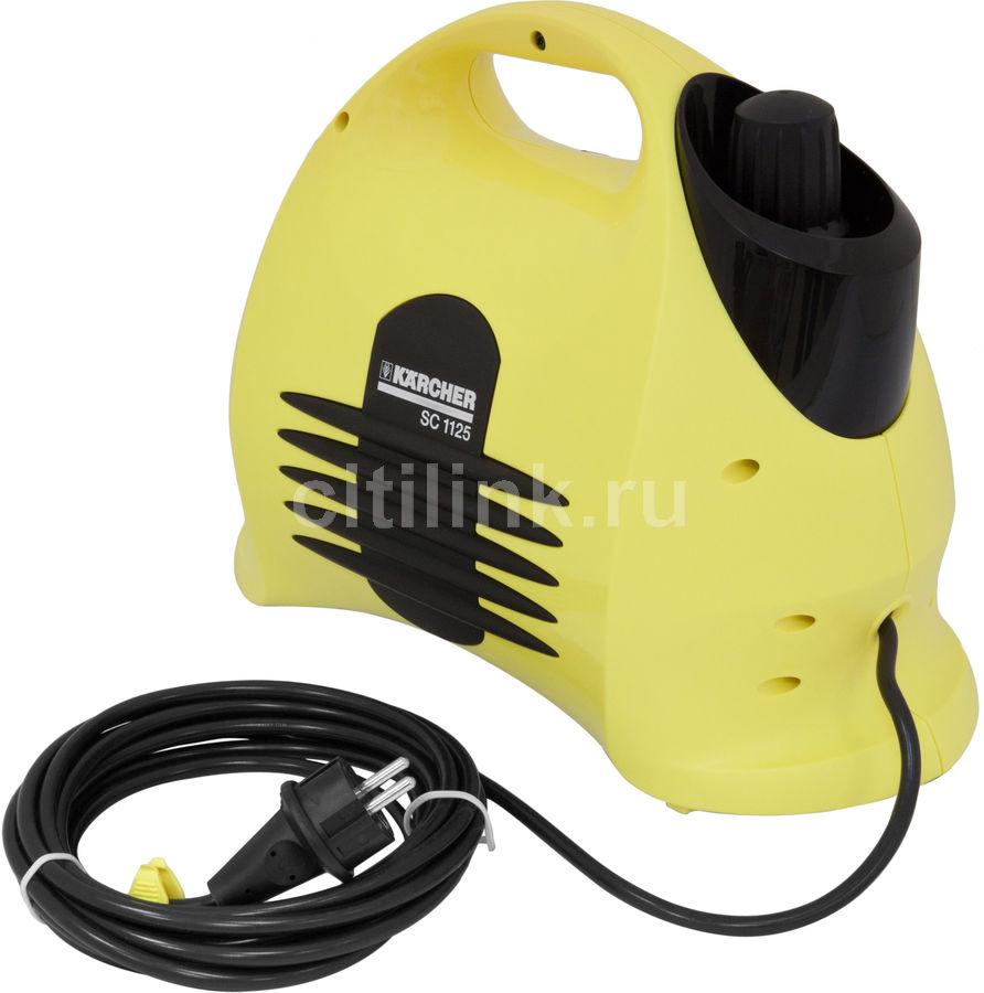 Отпариватель KARCHER SC1125 Plus,  желтый  [1.518-202.0]
