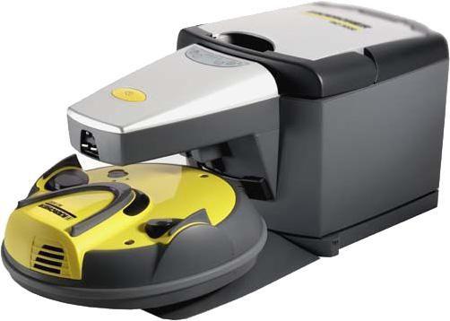 Робот-пылесос KARCHER RC 3000, 600Вт, желтый/серый