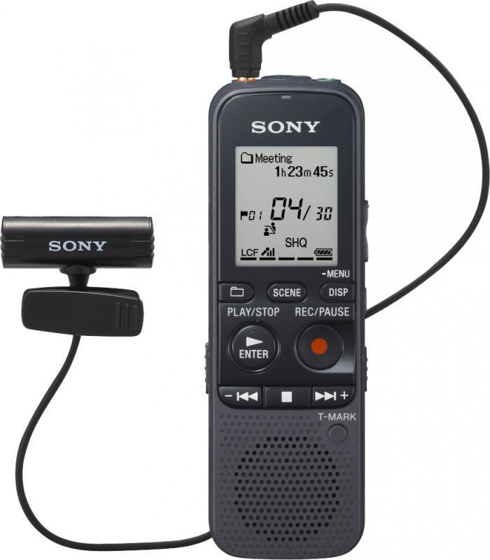 Диктофон SONY ICD-PX312M 2 Gb,  черный [icdpx312m.ce7]