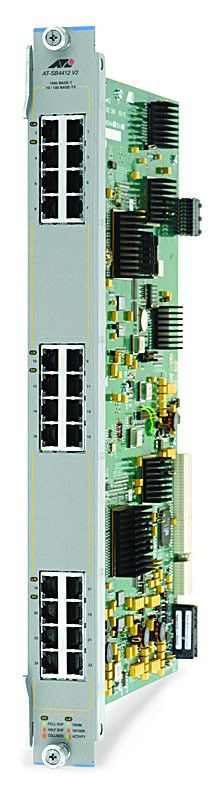 Модуль Allied Telesis (AT-SB4412) 24 port 10/100/1000BASE-T RJ45 connector line card