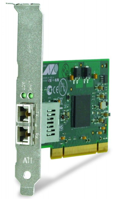 Сетевой адаптер Gigabit Ethernet Fiber ALLIED TELESIS AT-2916SX/SC PCI [at-2916sx/sc-001]