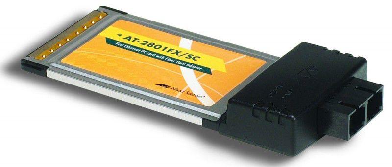Сетевой адаптер Ethernet ALLIED TELESIS 2801FX/SC PCMCIA [at-2801fx/sc]