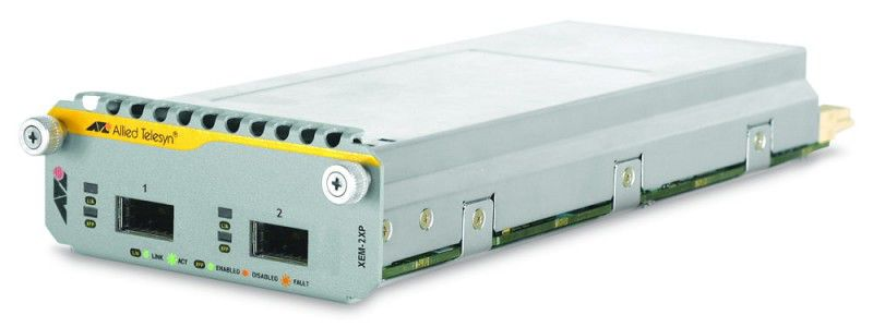 Модуль Allied Telesis (AT-XEM-2XP) 2 x 10Gigabit XFP Expansion Модуль+NetCover Basic,One Year