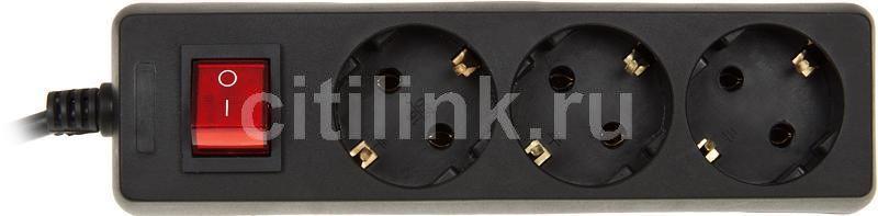 Сетевой удлинитель PC PET AP02001K-5-BK, 5м, черный