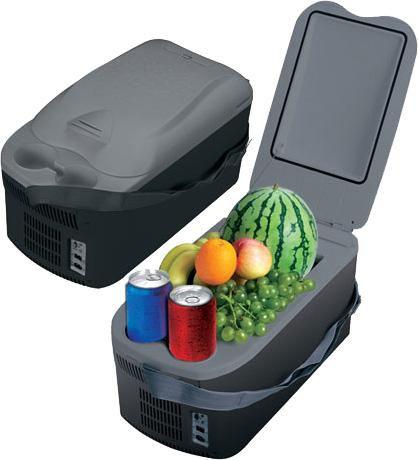 Автохолодильник MYSTERY MTC-16,  16л,  серый и черный