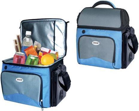 Автохолодильник MYSTERY MTH-18B,  18л,  синий и серый
