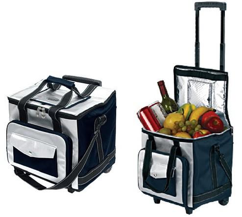 Автохолодильник MYSTERY MTH-32B,  32л,  темно-синий и белый