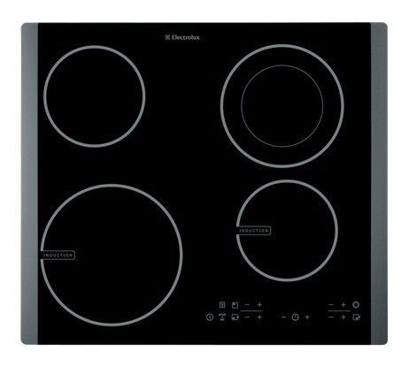 Варочная поверхность ELECTROLUX EHD60100P,  индукционная,  независимая,  черный