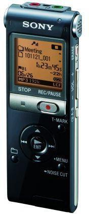 Диктофон SONY ICDUX512B.CE7 2 Gb,  черный