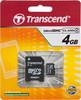 Карта памяти microSDHC TRANSCEND 4 ГБ