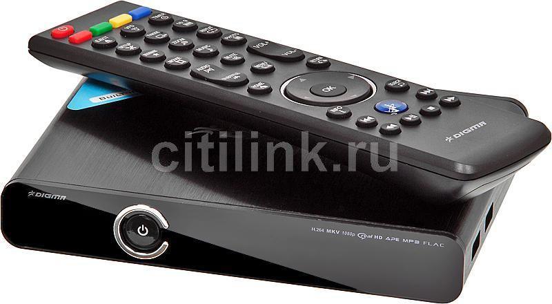 Медиаплеер DIGMA HDMP-311,  черный