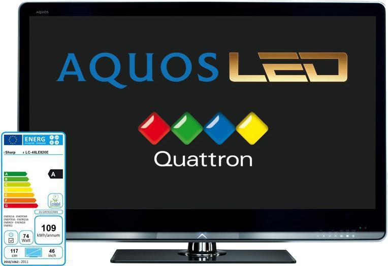 LED телевизор SHARP Aquos LC46LE820E  46