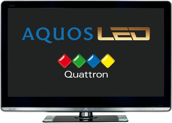 "LED телевизор SHARP Aquos LC46LE824  46"", FULL HD (1080p),  черный"
