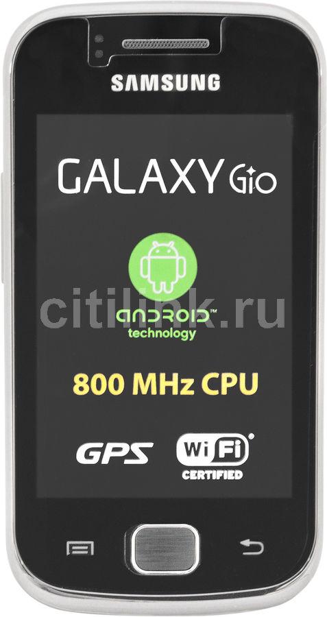 Смартфон SAMSUNG Galaxy Gio GT-S5660  темно-серый