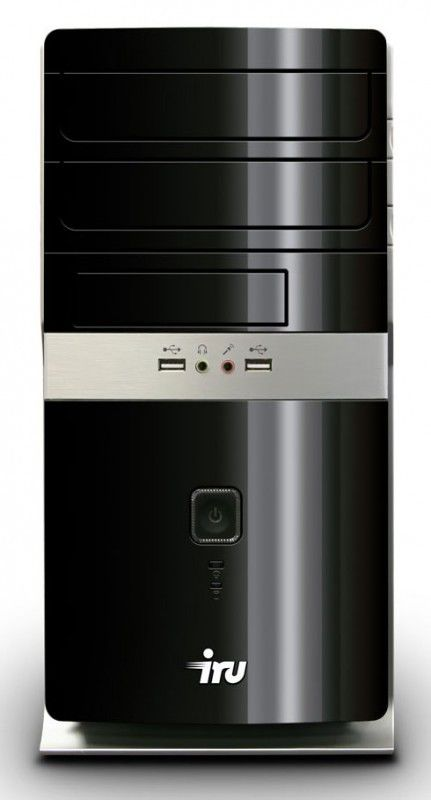 Компьютер  IRU Home 710,  Intel  Core2 Duo  E8500,  DDR3 2Гб, 320Гб,  AMD Radeon HD 5450 - 512 Мб,  DVD-RW,  noOS,  черный