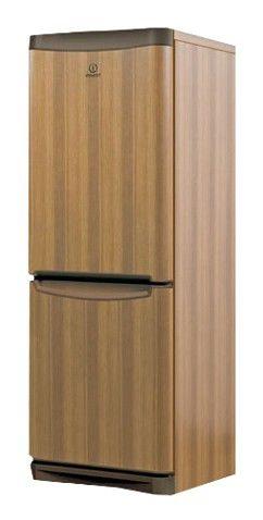 Холодильник INDESIT NBA 16 T,  двухкамерный,  коричневый