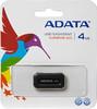 Флешка USB A-DATA Superior S101 4Гб, USB2.0, черный [as101-4g-rbk] вид 1