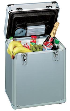 Автохолодильник EZETIL E 20 Alu,  20л,  серебристый [e 20 alu 12v]