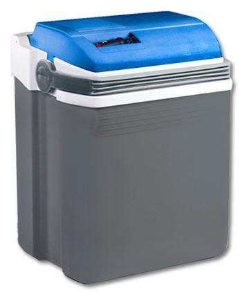 Автохолодильник EZETIL E 28S,  28л,  серый и синий [e 28s 12v]
