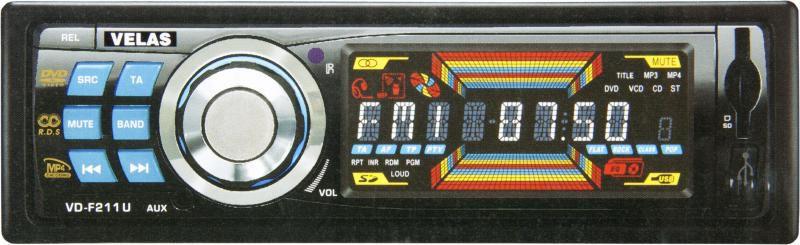 Автомагнитола VELAS VD-F211U,  USB,  SD/MMC